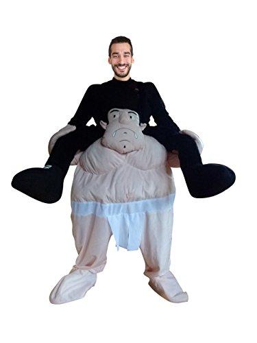 -Kostüm, F112 Gr. M-XL, als Huckepack-Kostüm, Männer-Kostüme Paar-Kostüme Gruppen-Kostüme, Fasching Karneval, Faschings-Kostüme, Geburtstags-Geschenk Erwachsene ()