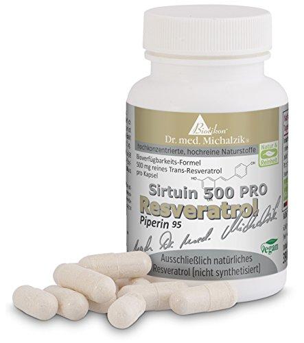 Trans-resveratrol (Resveratrol 500 PRO nach Dr. med. Michalzik - ohne Zusatzstoffe)