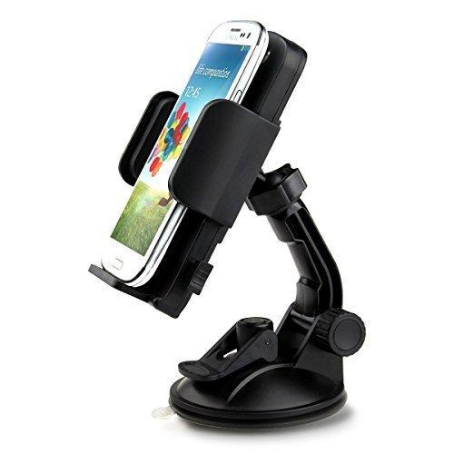 Supporto per Telefono in Auto, iClever Supporto con Rotazione a 360 gradi per cruscotto, universale per iPhone8 7 7plus 6s plus 6, Samsung Galaxy e altri telefoni cellulari di dimensioni 2.28