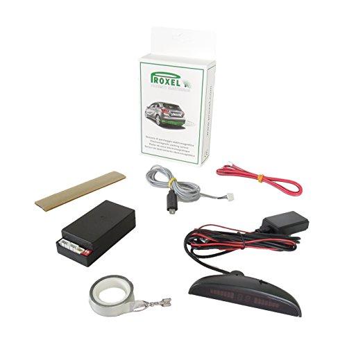 Sensori di parcheggio elettromagnetici invisibili eps-dual 3.0 con display wireless, posteriori senza forare il paraurti, kit universale e originale proxel versione 2019