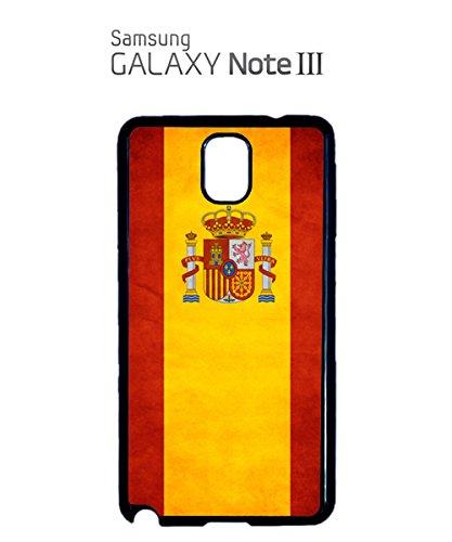 Spain Flag Spanish Espa–a Espana Retro Vintage Mobile Phone Case SAM-GALAXY Note 3 White Blanc