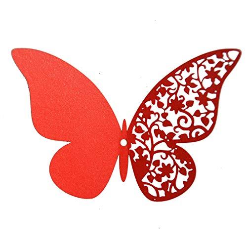 Dylung 3D Schmetterling Aufkleber Wandsticker Wandtattoo Wanddeko für Wohnung, Raumdekoration