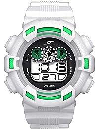 Digital Reloj Deportivo para Hombres Los relojes electrónicos Multifunciones Militares Resistente contra Agua 50m Relojes de