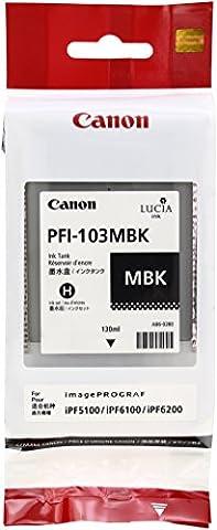 Canon PFI103 Ink Tank - Matte Black