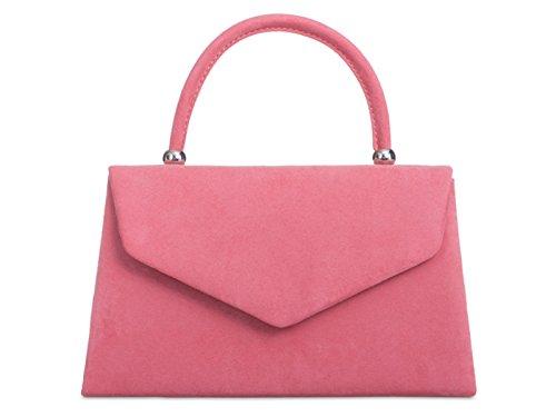 fi9®, Poschette giorno donna rosa Dusky Pink M Baby Pink