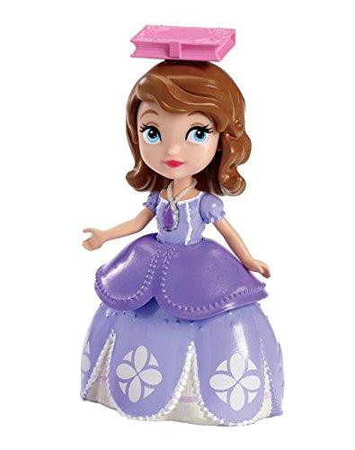 Mattel CJP99 - Disney Princess - Sofia die Erste - Prinzessin Sofia mit Buch - 9 cm Spielfigur & Zubehör