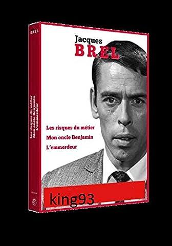 Jacques Brel Coffret 3 films DVD - LES RISQUES DU