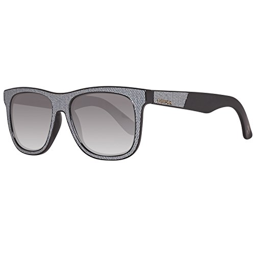 Diesel sonnenbrille dl0161 5420c, occhiali da sole unisex-adulto, nero (schwarz), 54