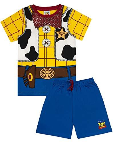 Disney Pixar Toy Story Woody Disfraz de Pijama Corto para niño 3-4 Años