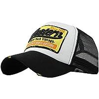 Sombrero, Xinantime Sombrero Hip Hop gorras beisbol Gorra para hombre mujer Sombreros de verano gorras de camionero de Hip Hop Impresión bordada, talla única (❤️Negro)