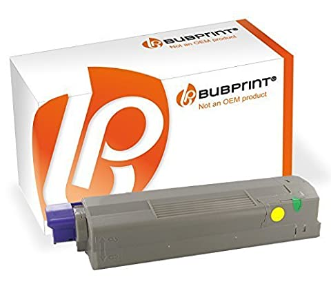 Bubprint Toner yellow kompatibel für OKI C610 C 610