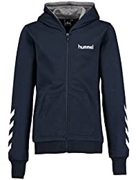 Image of Hummel Joven Chaqueta Killian Zip Jacket, total eclipse, 140, 33 – 333 – 7364