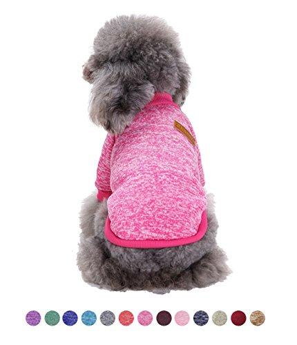 GabeFish Hunde Kleidung Pullover Fleece Hoodie für kleine medium Puppy Pets Katzen Herbst Winter Bekleidung Sweatshirt, 2XL (Bust 20.47