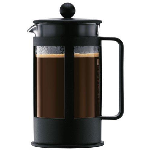 Bodum Kenya - Cafetera, 8 tazas, 1 l, color negro