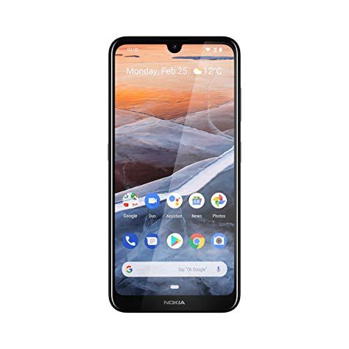 Nokia 3.2 Dual SIM Smartphone - Deutsche Ware (15,9 cm (6.26 Zoll), 13 MP Hauptkamera, 3GB RAM, 32 GB interner Speicher, Android 9 Pie) Steel