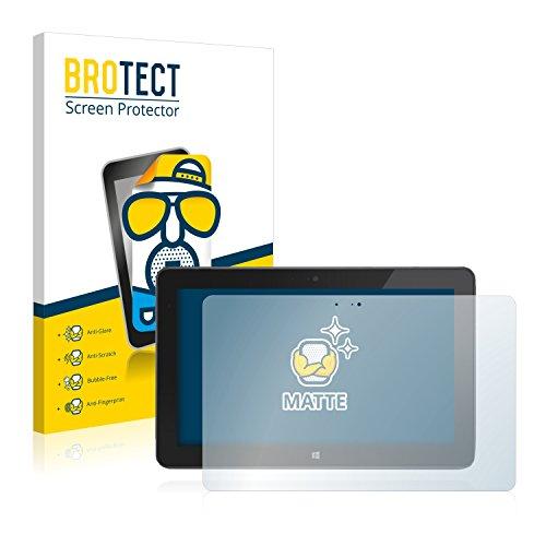 BROTECT Entspiegelungs-Schutzfolie kompatibel mit Dell Venue 11 Pro 7130 (2013-2014) (2 Stück) - Anti-Reflex, Matt