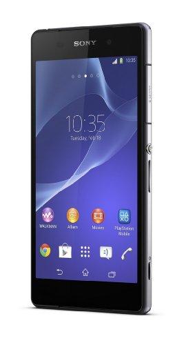 Sony Xperia Z2 5 2 SIM nica 4G 3GB 16GB 3200mAh Negro - Smartphone 13 2 cm 5 2 16 GB 20 7 MP Android 4 4 Negro