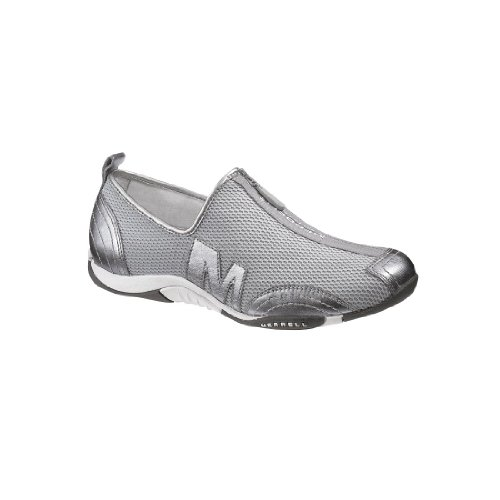Femmes Merrell Barrado Chaussures Casual Silver Leather