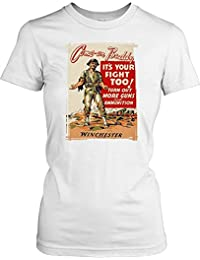 Come on Buddy its Your Fight too Ladies T Shirt - Funny