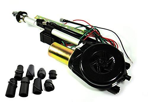 Elektrische Antenne Power Antenne Mast Radio OEM Ersatz Kit für MB W123 W124 W210 E W126 W140 S W201 W202 C R107 R129 SL - Power-antenne, Mast