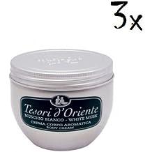 Lot de 3 crèmes pour le corps Tesori d Oriente - Senteur musc blanc - acc09e6e4ef4