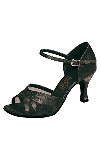 pour latine femmes de Valley chaussures Roch danse Aphrodite Noir FXaIq