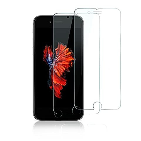 [2-Pack] iPhone 6 / 6s Screen Protector [LIFETIME WARRANTY] - Anker GlassGuard(Premium Tempered-Glass Screen Protector) for Apple iPhone 6 and iPhone 6s (4.7 inch)