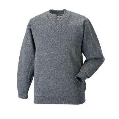Russell Workwear Sweatshirt / Pullover, V-Ausschnitt