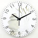 weihaoa Wanduhr Cute Retro 14 Zoll Designer Wanduhr Moderne Dekoration 3D Wanddekor Clcoks Wohnzimmer Dekor Stille Wanduhr Uhr