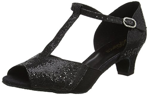 So Danca Ch792 Zapatillas de Baila Moderno y Jazz Mujer, Negro (Black), 39.5 EU (6 UK)