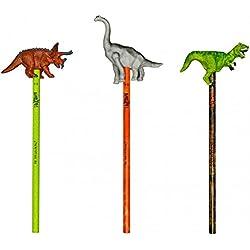 Lápiz con figura de Dinosaurio