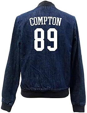 Compton 89 Bomber Chaqueta Girls Jeans Certified Freak