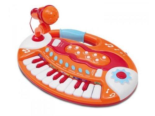 Preisvergleich Produktbild Bontempi Baby Keyboard and Microphone by BONTEMPI