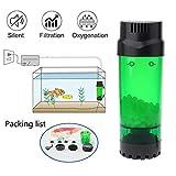 Fish Tank Filter Abnehmbar Aquarium Filter Füge Sauerstoff Hinzu Wasserkreislauf Luftpumpe...