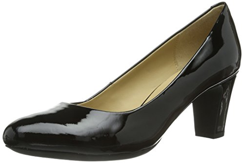 Geox D Mariele MID, Damen Pumps, Schwarz (BLACKC9999), 35 EU (2.5 Damen UK)