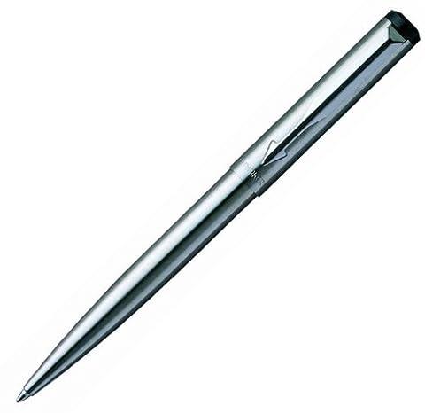 Sanford S0524451 - Parker Vector Edelstahl C.C. Kugelschreiber, Stärke: M, silber