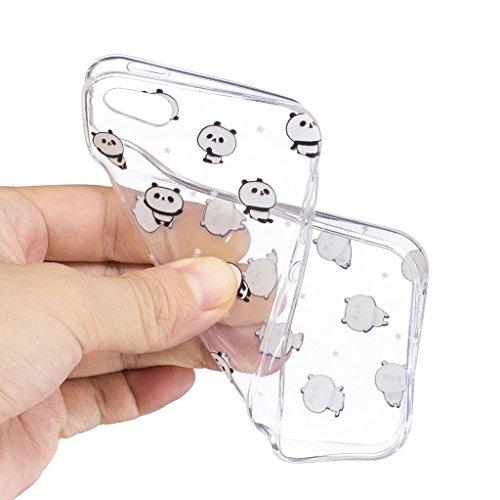 Per iPhone 5 5S SE Cover , YIGA corona imperiale Cristallo Trasparente Silicone Morbido TPU Case Shell Caso Protezione Custodia per Apple iPhone 5 5S SE LF6