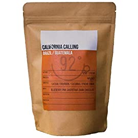 92 Degrees Coffee – California Calling – Small Batch, Hand Roasted in UK, Premium Speciality Fresh Ground Coffee (250g…