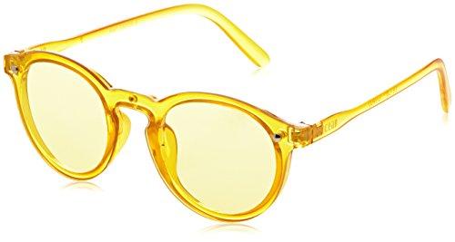 Ocean Eye, Montures de lunettes Mixte Adulte, Jaune (Giallo Trasparente), 52