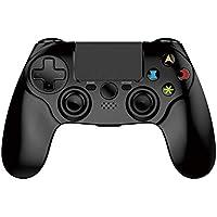 Controlador PS4- Controlador inalámbrico de juegos Bluetooth Controlador de juegos de doble vibración PS4 Con
