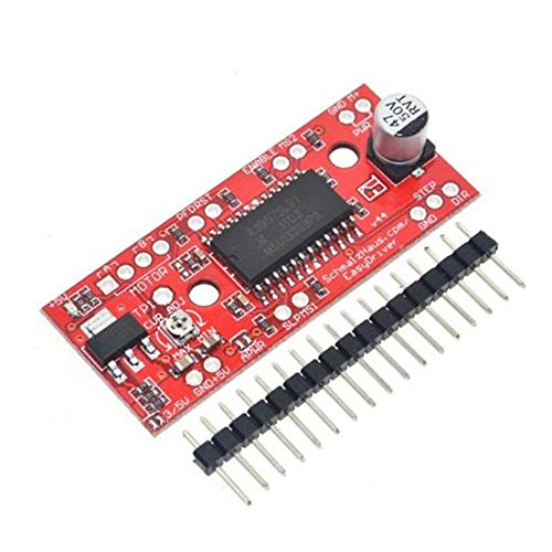 DGdolph 5Pcs A3967 EasyDriver Stepper Motor Driver V4.4+Pin Header for Arduino US New Orange