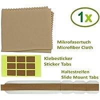 Thorani Kit de Fijación I Cinta de Repuesto y Pestañas, para el Acoplamiento Seguro de Filtros de Privacidad a Monitores, Portátiles y MacBooks - 1 Paquete