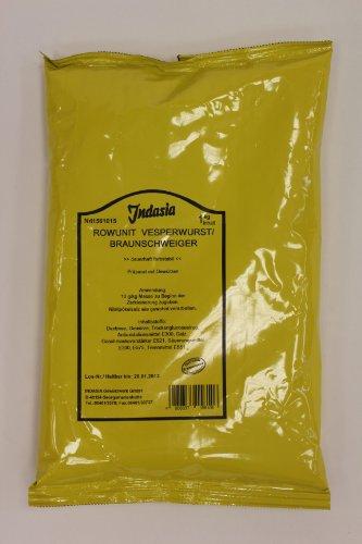 Indasia Rowunit Vesperwurst Braunschweiger 1kg Gewürzpräparat