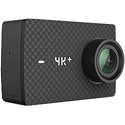 YI 4k+ BK Caméra d'action et de Sport 4K/60fps WiFi Noir