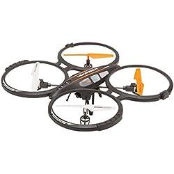 GOCLEVER gcdv Drone con cámara Drone Voyager, Negro
