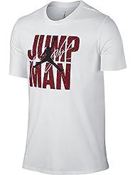Nike - JUMPMAN FLIGHT TEE - Maillot - Blanc - M - Homme
