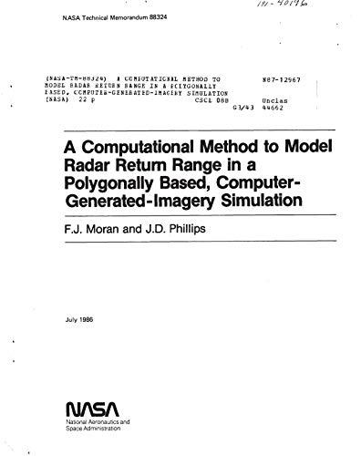 Radar Range (A computational method to model radar return range in a polygonally based, computer-generated-imagery simulation (English Edition))