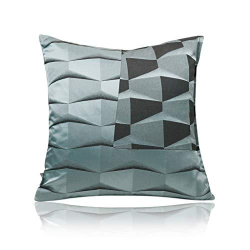 LPFS Minimalistischer Stil des ursprünglichen Entwurfs Ausgangssofakissen Designer-Modellraum weiches beladenes Kissen graues (Farbe : Bronze)