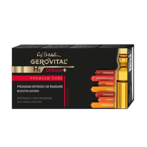 Trattamento intensivo anti rughe booster fiale /-gerovital h3 derma+ premium care