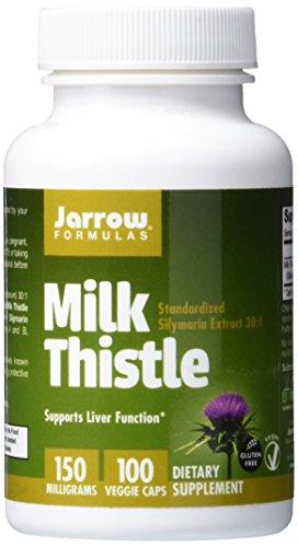 Jarrow Formulas, Chardon-Marie, 150 mg, 100 capsules